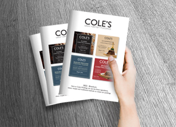 Cole's Puddings Catalogue