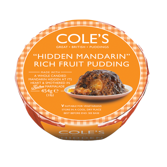 Cole's Hidden Mandarin Rich Fruit Pudding